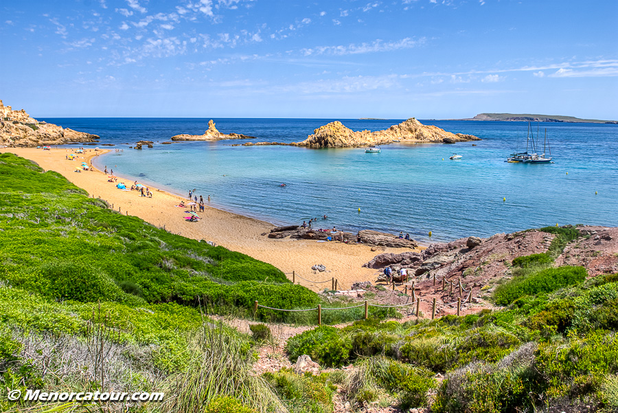 Cala Pregona, Menorca